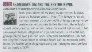 Artikel gitarist.nl Shakedown Tim