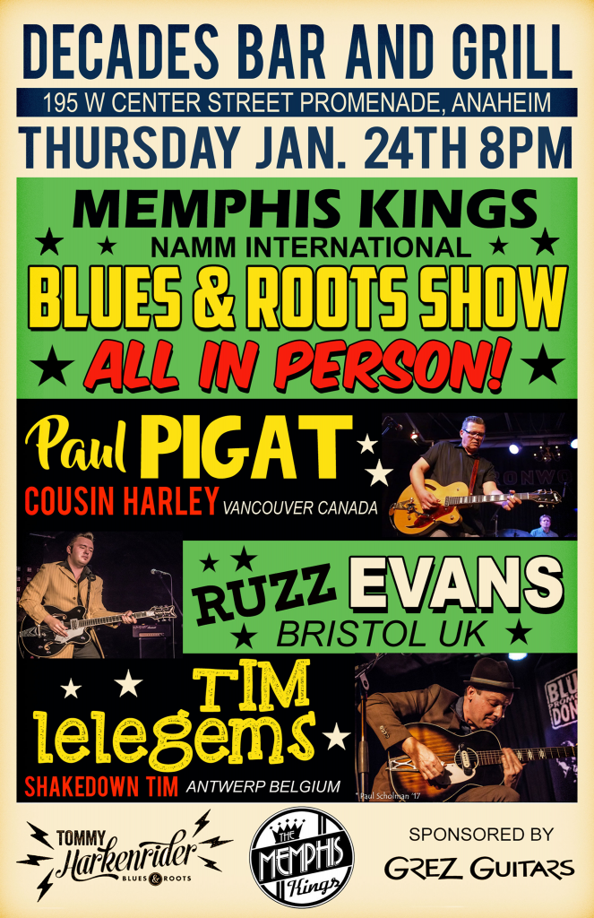 NAMM Blues & Roots show